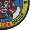 VA-65 Attack Squadron Sixty Five World Cruise Patch | Lower Right Quadrant