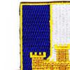 393rd Infantry Regiment Patch   Upper Left Quadrant