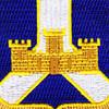 393rd Infantry Regiment Patch   Center Detail