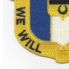 391st Infantry Regiment Patch | Lower Left Quadrant