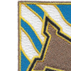 390th Infantry Regiment Patch | Upper Left Quadrant