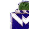 38th Infantry Regiment Patch | Upper Left Quadrant
