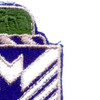 38th Infantry Regiment Patch | Upper Right Quadrant