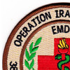 386th Expeditionary Medical Group Patch | Upper Left Quadrant
