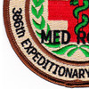 386th Expeditionary Medical Group Patch | Lower Left Quadrant