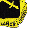 385th Military Police Battalion Patch Black Version | Lower Right Quadrant