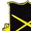 385th Military Police Battalion Patch Black Version | Upper Left Quadrant