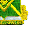 384th Military Police Battalion Patch | Lower Right Quadrant