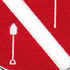 383rd Engineering Battalion Patch | Center Detail