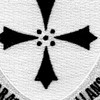 381st Infantry Regiment Patch | Center Detail