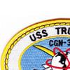 USS Truxtun CGN-35 Patch   Upper Left Quadrant