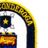 USS Ticonderoga CG-47 Patch | Upper Right Quadrant