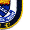 USS Ticonderoga CG-47 Patch | Lower Right Quadrant