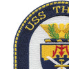 USS Thach FFG-43 Frigate Ship Patch | Upper Left Quadrant