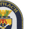 USS Thach FFG-43 Frigate Ship Patch | Upper Right Quadrant
