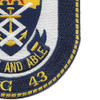 USS Thach FFG-43 Frigate Ship Patch | Lower Right Quadrant