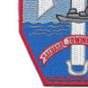 USS Tawakoni ATF 114 Auxiliary Fleet Tug Ship Patch | Lower Left Quadrant