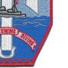 USS Tawakoni ATF 114 Auxiliary Fleet Tug Ship Patch | Lower Right Quadrant