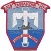 USS Tawakoni ATF 114 Auxiliary Fleet Tug Ship Patch