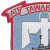 USS Tawakoni ATF 114 Auxiliary Fleet Tug Ship Patch | Upper Left Quadrant