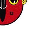 VB-13 Patch Bombing Squadron Thriteen | Lower Right Quadrant