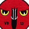 VB-13 Patch Bombing Squadron Thriteen | Center Detail
