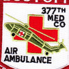 377th Aviation Medical Company Air Ambulance Patch | Center Detail