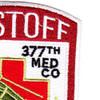 377th Aviation Medical Company Air Ambulance Patch | Upper Right Quadrant