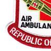 377th Aviation Medical Company Air Ambulance Patch | Lower Left Quadrant