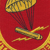 377th Airborne Field Artillery Battalion Patch WWII | Center Detail
