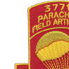 377th Airborne Field Artillery Battalion Patch | Upper Left Quadrant