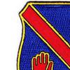 372nd Infantry Regiment Patch   Upper Left Quadrant