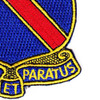 372nd Infantry Regiment Patch   Lower Right Quadrant