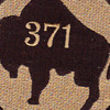 371st Infantry Regiment Patch WWI | Center Detail