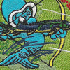 USS Sterlet SS-392 Diesel Electric Submarine Patch | Center Detail