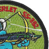 USS Sterlet SS-392 Diesel Electric Submarine Patch | Upper Right Quadrant