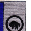 371st Infantry Regiment Patch | Upper Right Quadrant
