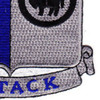 371st Infantry Regiment Patch | Lower Right Quadrant