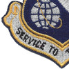 3700th Tactical Training Wing Patch | Lower Left Quadrant