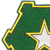 36th Infantry Regiment Patch | Upper Left Quadrant