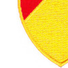 36th Field Artillery Regiment Patch | Lower Left Quadrant