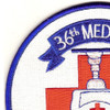 36th Aviation Medical Detachment Patch   Upper Left Quadrant