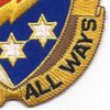 369th Signal Battalion Patch Quality All Ways | Lower Right Quadrant