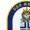 USS Rentz FFG-46 Guided missile Frigate Ship Patch | Upper Left Quadrant