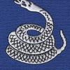 369th Infantry Regiment Snake Patch   Center Detail