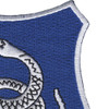 369th Infantry Regiment Snake Patch | Upper Right Quadrant