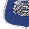 369th Infantry Regiment Snake Patch   Lower Left Quadrant