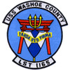 USS Washoe County LST-1165 Patch