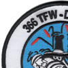 366th Tactical Fighter Wing Patch | Upper Left Quadrant