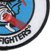366th Tactical Fighter Wing Patch | Lower Right Quadrant